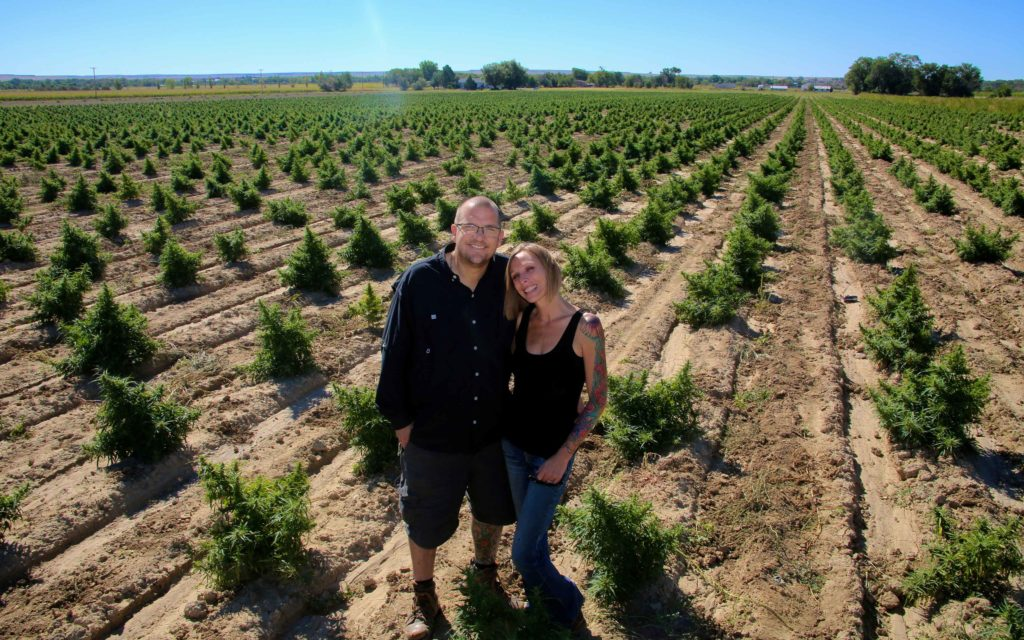 CANNABIS FARMERS CRAIG AND CELENA NEAL